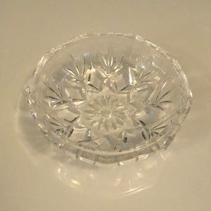 Other - Small Crystal Glass Trinket Dish